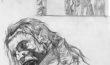 Frankenstein's Womb Page 14 - pencils